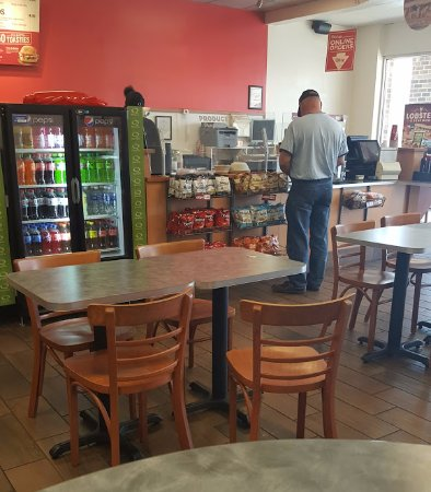 Inside the Quiznos in Rocky Mount, VA