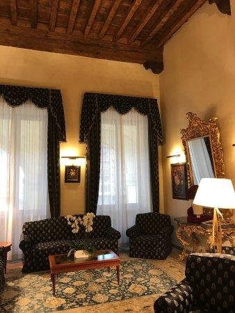 Hotel Degli Orafi: a meeting hall