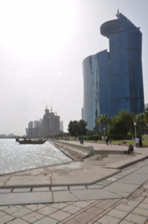 The Corniche : Dhow and Al Corniche