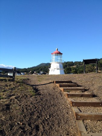 Shelter Cove, Californien: Relocated lighthouse