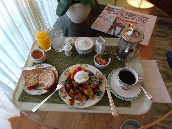 Rosedon Hotel: Cooked Breakfast option
