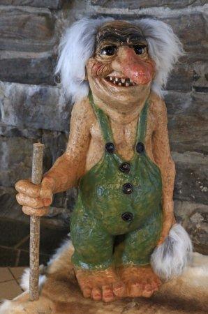 Nordkapp Municipality, Norway: Troll at main entrance
