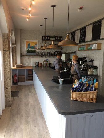 The newly updated island cafe