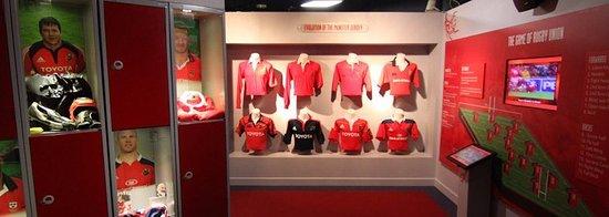 Thomond Park Stadium: Munster rugby experience museum.