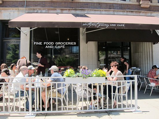 Southport Grocery & Cafe : Our Patio in Summer