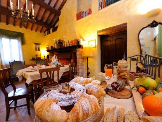 Magione, Ιταλία: La nostra colazione