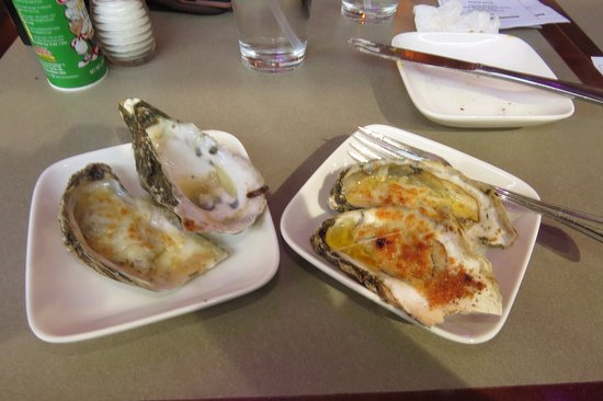 Fairfax, VA: Charbroiled oysters