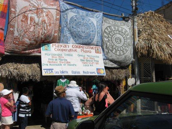 Ruinas de Coba: le magasin maya