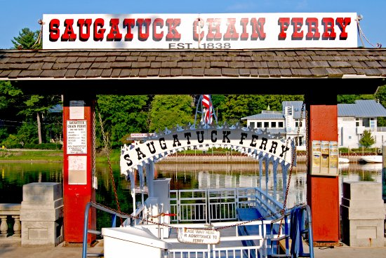 Iconic Saugatuck Chain Ferry