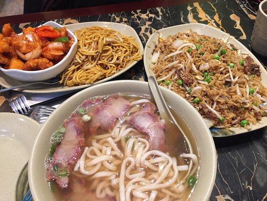 Wonton Noodle Garden Nueva York Chinatown Fotos