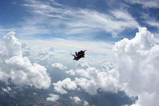 Skydive Carolina!: fly through the clouds