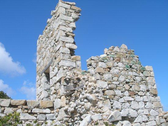 Spanish Town, Virgin Gorda: The ruins