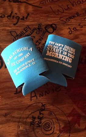 Apalachicola, FL: Koozies available!