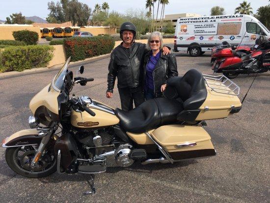 Harley Davidson Ultra Glide Rental Picture Of Az Ride Motorcycle