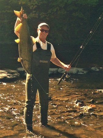 Mexico, NY: Salmon fishing September & October