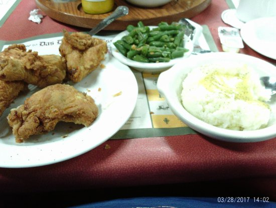 Middlebury, IN: fried chicken