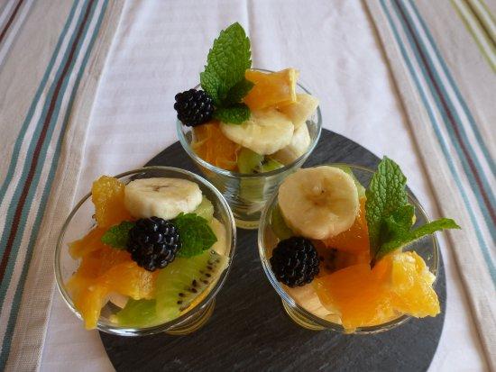 A la Maison Jaune : Petit-déjeuner vitaminé