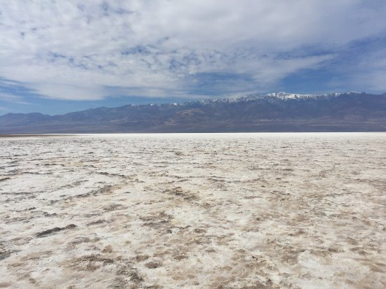 Badwater: I saw lots of salt