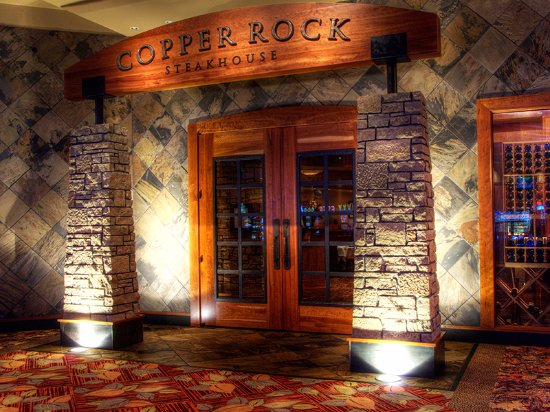 Four Winds Casino Resort: Copper Rock Steakhouse