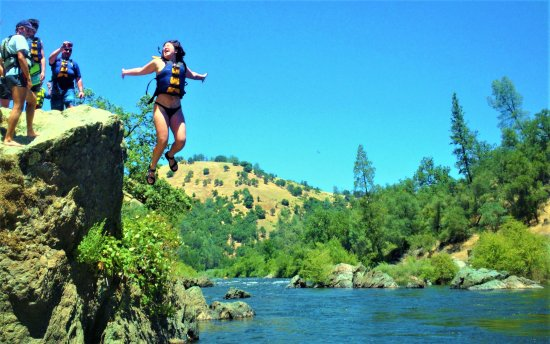 Lotus, CA: Take a leap of faith!