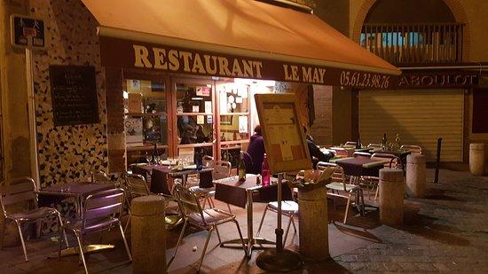 restaurant le may toulouse saint rome restaurant reviews phone number photos tripadvisor. Black Bedroom Furniture Sets. Home Design Ideas