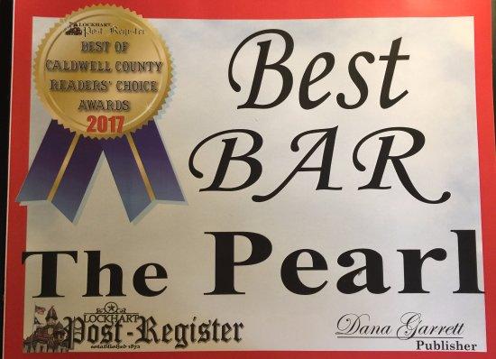 "Lockhart, TX: Voted ""Best Bar 2017"" Caldwell County!!!"