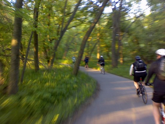 Clive, IA: one of the most extensive and beautiful networks of safe, city bike trails is right outside our