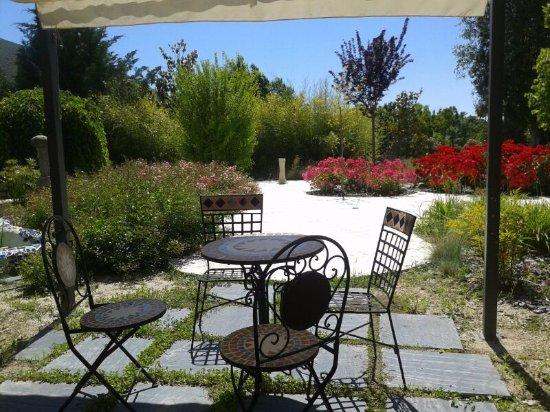 Caparacena, Spain: Un rincón en el jardin