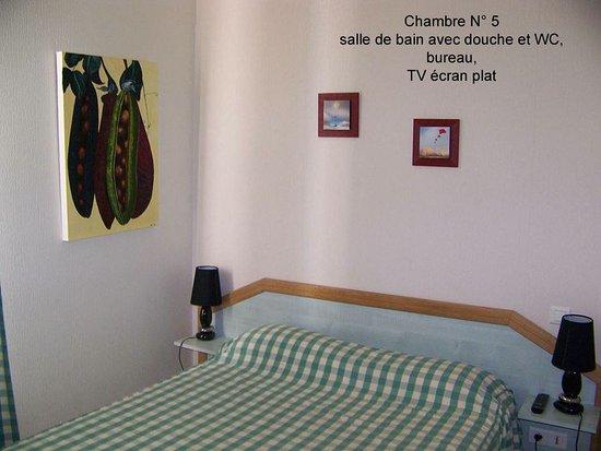 Jarnac Champagne, ฝรั่งเศส: chambre numéro 5
