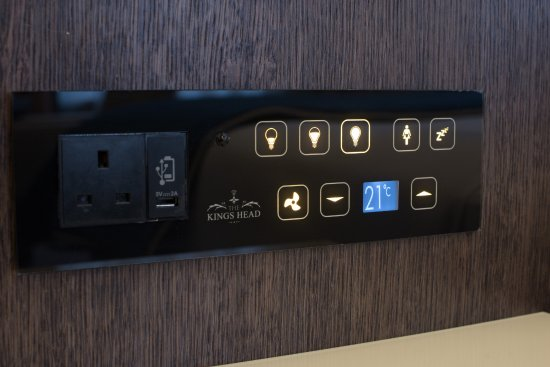 Room Amenities Touch Screen Panel For The Lights Air