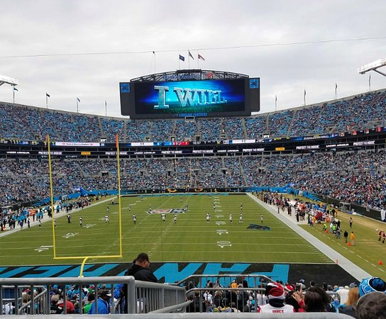 Photo of Tourist Attraction The Bank of America Stadium at 800 S. Mint St., Charlotte, NC 28202, United States