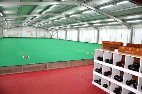 Polgooth, UK: Indoor Bowling Rink