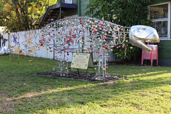 Bradenton, FL: Outdoor sculpture in the Village of the Arts.