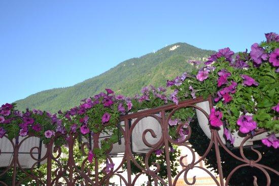 Moutiers, Γαλλία: vue prise du balcon de la chambre