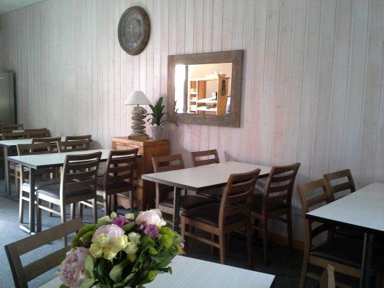 Moutiers, France: salle petit déjeuner