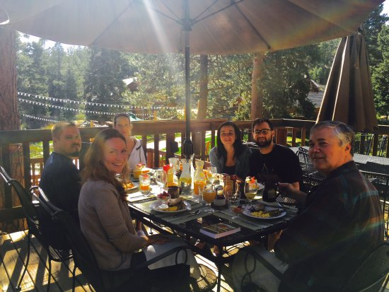 Pine, CO: Patio Summer Dining