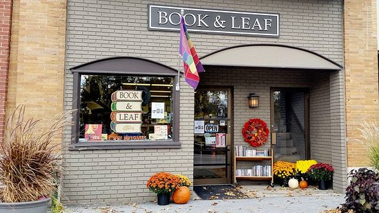 ‪Book & Leaf Bookstore‬