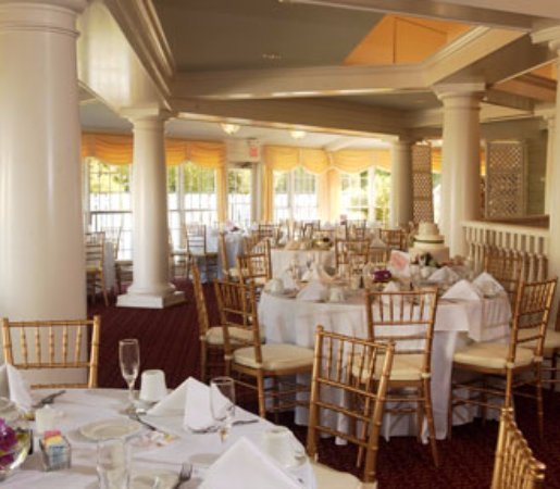 Stevensville, MD: Garden House set-up for a banquet or wedding