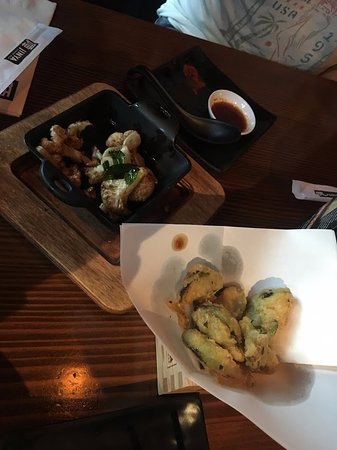 Murray, UT: Appetizers: Brussels Sprouts and Cauliflower