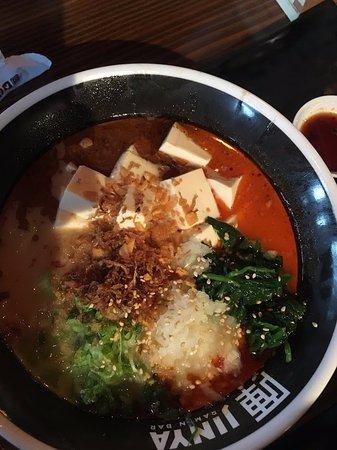 Murray, UT: Spicy Tofu Ramen - Vegetarian and so tasty!