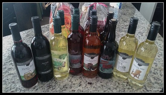 Vienna, MD: Our wine haul. Turbo Red may be our new favorite.