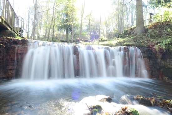 Vidzeme Region, Lettland: Waterfall