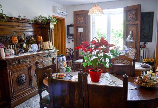 Baricella, إيطاليا: stanza colazioni