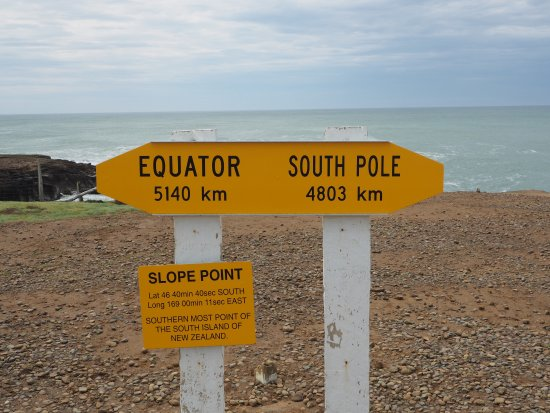 Waikawa, New Zealand: Slope Point