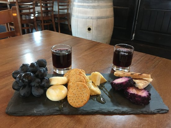 Christiansburg, VA: Port and cheese plate