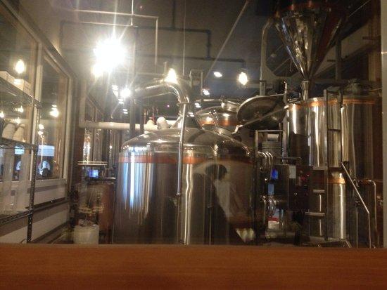 Prince George, Canada: Brewing area