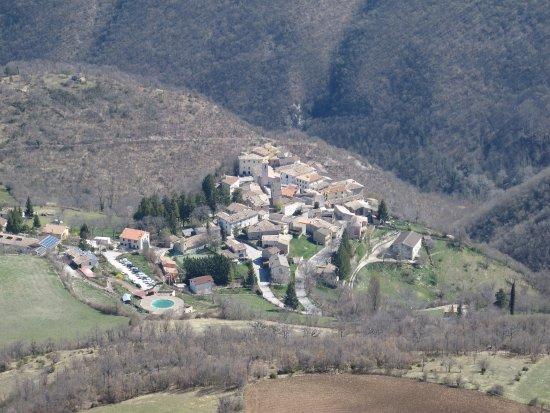 Umbría, Italia: vista dall'alto di monte Carpenale