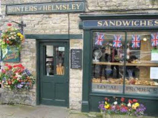 North Yorkshire, Market town Helmsley, with lots of great coffee shops