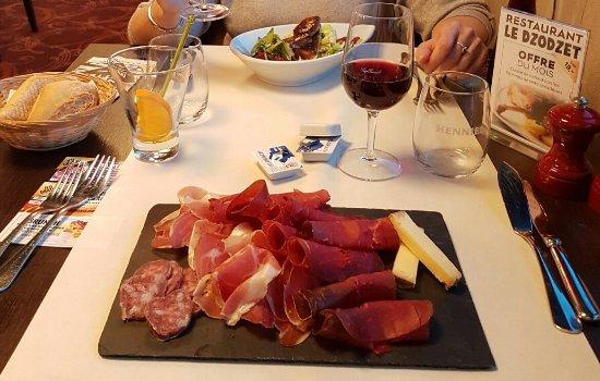 Granges-Paccot, Schweiz: Menu jeu gourmand délicieux