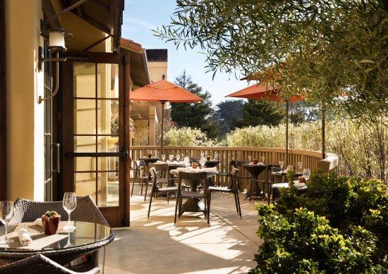Hotel Abrego : Bistro Abrego terrace